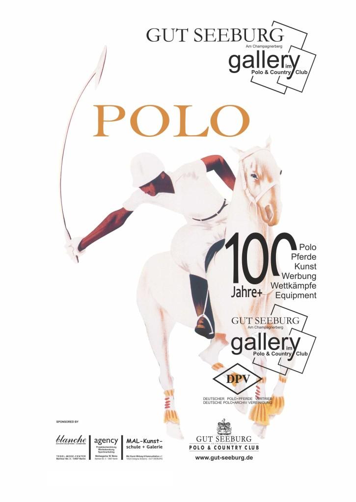 Plakat Poloausstellung a